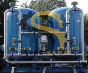 دستگاه سختی گیر آب استیل صنعت